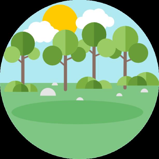 Outdoor round sticker messages sticker-0