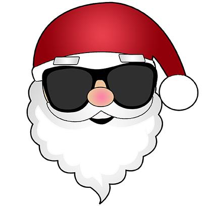Hi Santa Claus Stickers messages sticker-2