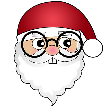 Hi Santa Claus Stickers messages sticker-3