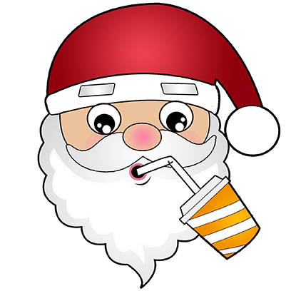 Hi Santa Claus messages sticker-5