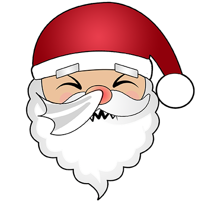 Hi Santa Claus messages sticker-10