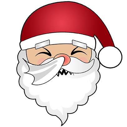 Hi Santa Claus Stickers messages sticker-10