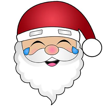 Hi Santa Claus Stickers messages sticker-11