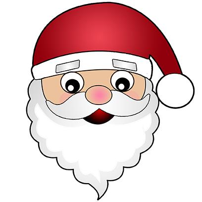 Hi Santa Claus Stickers messages sticker-0