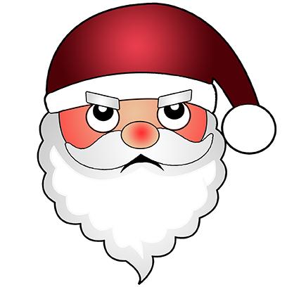 Hi Santa Claus Stickers messages sticker-7