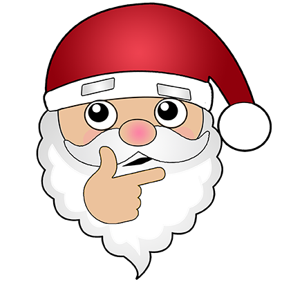 Hi Santa Claus messages sticker-9