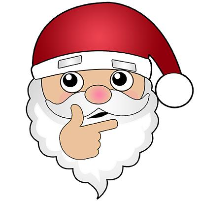Hi Santa Claus Stickers messages sticker-9