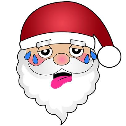 Hi Santa Claus Stickers messages sticker-1