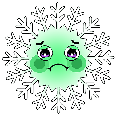 Ted Snowflake messages sticker-8