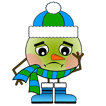 Lex Snowman messages sticker-11