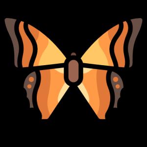 ButterfliesMi messages sticker-1