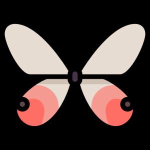 ButterfliesMi messages sticker-2