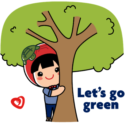 UOB Heartbeat x AngKuKuehGirl messages sticker-9
