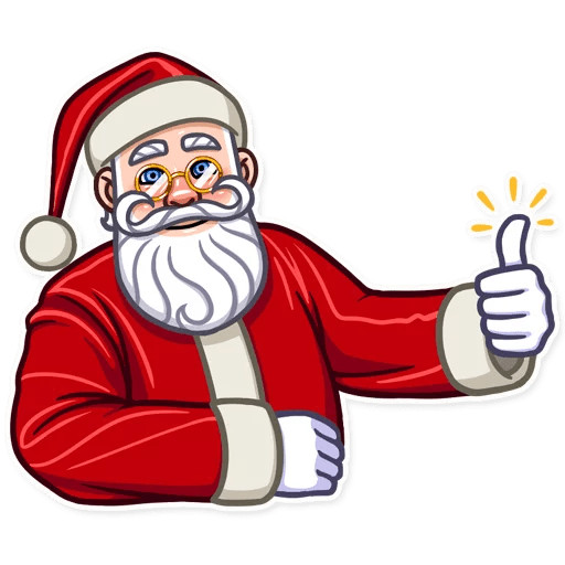 Santa Claus Gifts For You messages sticker-2