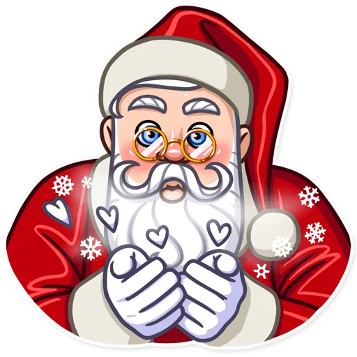 Santa Claus Gifts For You messages sticker-1