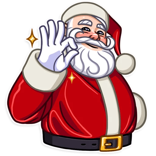 Santa Claus Gifts For You messages sticker-8
