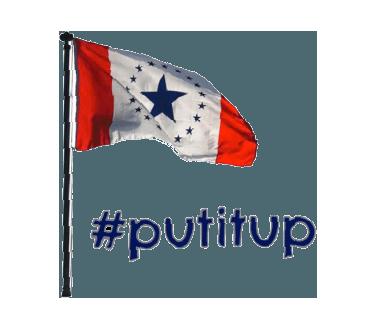 Mississippi Flag messages sticker-7