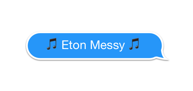 Eton Messy Records messages sticker-8