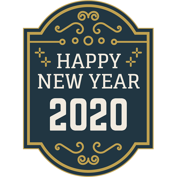 New Year Stickers messages sticker-3