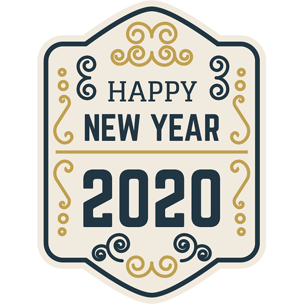 New Year Stickers messages sticker-2