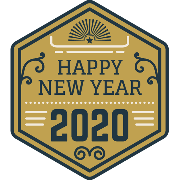 New Year Stickers messages sticker-0