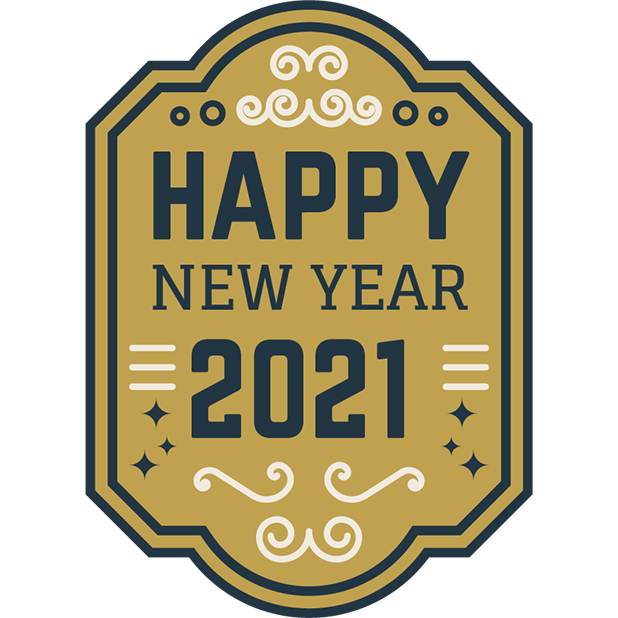 New Year Stickers messages sticker-7
