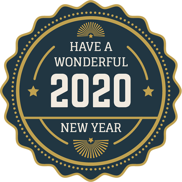 New Year Stickers messages sticker-5
