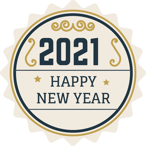 New Year Stickers messages sticker-10