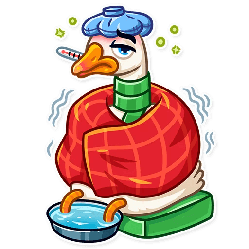 Christmas Goose New Year messages sticker-7