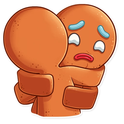 Gingy for New Year messages sticker-10