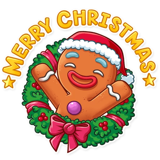 Gingy for New Year messages sticker-9