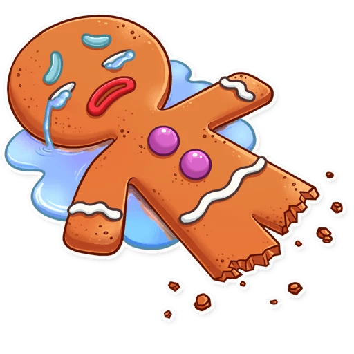 Gingy for New Year messages sticker-5