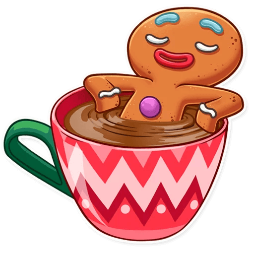 Gingy for New Year messages sticker-6