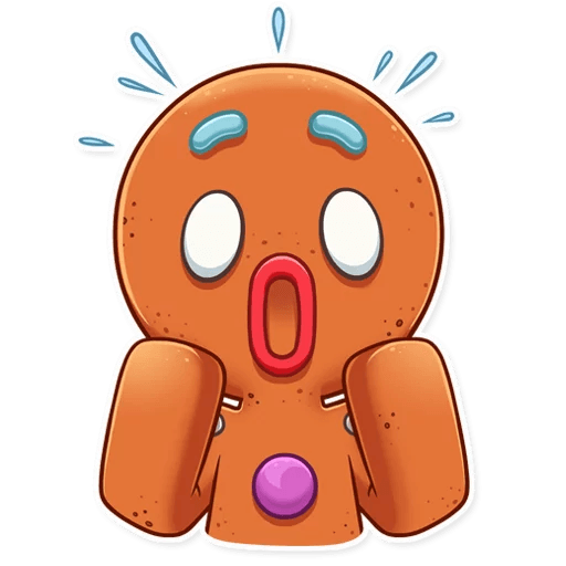 Gingy for New Year messages sticker-3