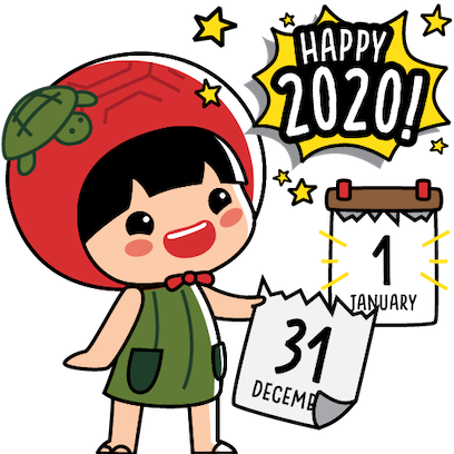 Ang Ku Kueh Girl - Christmas messages sticker-7
