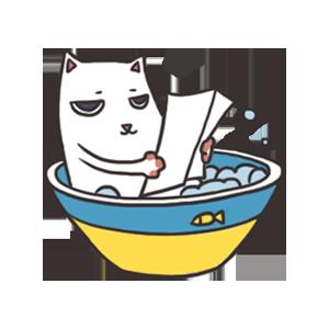 萌猫 messages sticker-0