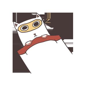 萌猫 messages sticker-8