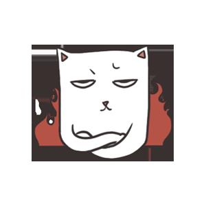 萌猫 messages sticker-2