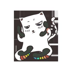 萌猫 messages sticker-4