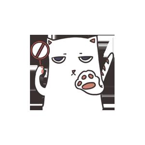萌猫 messages sticker-1
