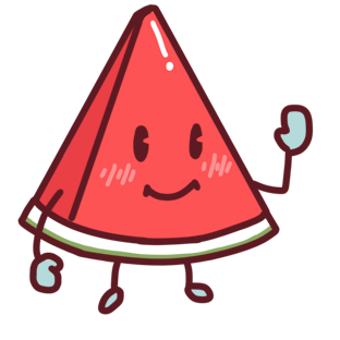 Shy watermelon messages sticker-0