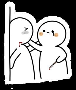 Kavkaii messages sticker-11