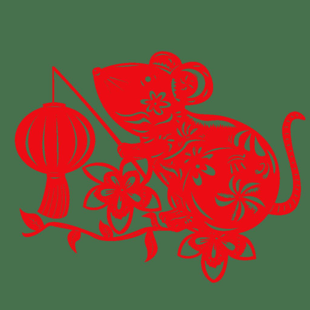 春节好运红包~剪纸贴 messages sticker-1