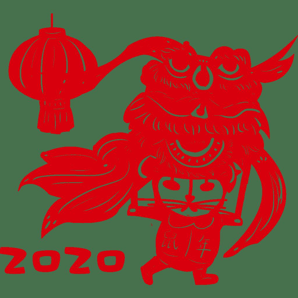 春节好运红包~剪纸贴 messages sticker-3