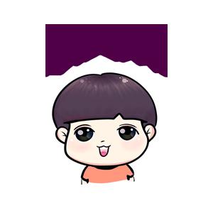 粉海晏小男孩 messages sticker-0
