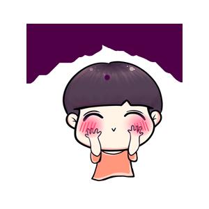 粉海晏小男孩 messages sticker-3