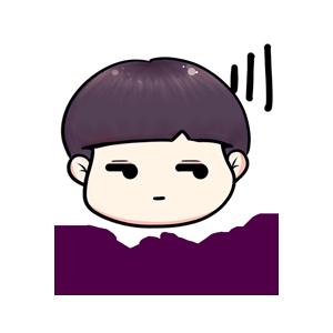 粉海晏小男孩 messages sticker-7
