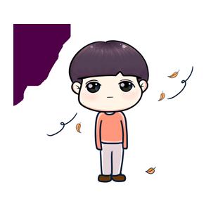 粉海晏小男孩 messages sticker-2