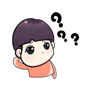 粉海晏小男孩 messages sticker-5