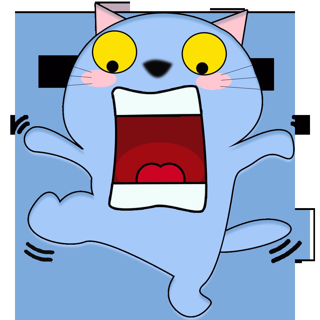 84 Cat messages sticker-8